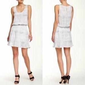 Joie Printed White Dress